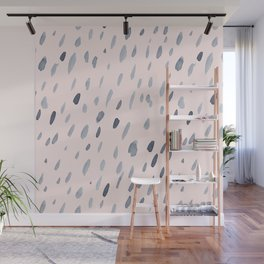 Raindrops Are Falling On My Head Wall Mural
