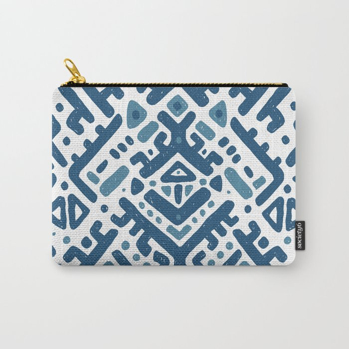 Ikat ornament. Tribal pattern Carry-All Pouch