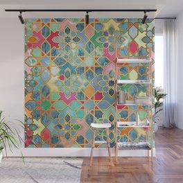 Gilt & Glory - Colorful Moroccan Mosaic Wall Mural