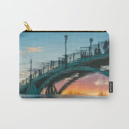 the reflection of the pedestrian bridge Carry-All Pouch