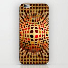 Ball illusion art iPhone Skin