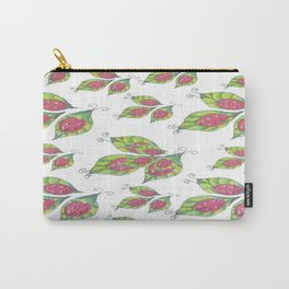 Lady Bugs Pattern Carry-All Pouch