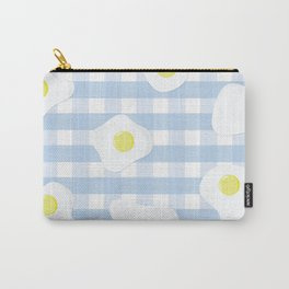 Sunny Side Up + Gingham Carry-All Pouch