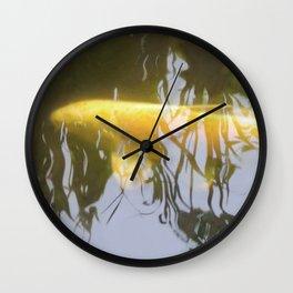 Ghost Koi Wall Clock