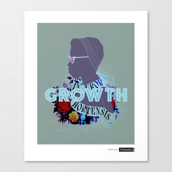 """Growth"" - What's Your FEARLESS Canvas Print"