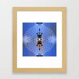 HYPER CUBE Framed Art Print