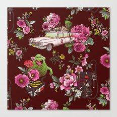 Ecto Floral Canvas Print