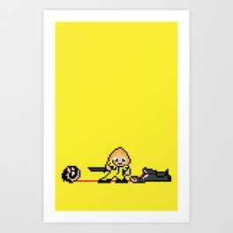 Kill Pixel Bill  Art Print