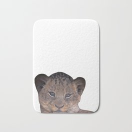 baby cheetah Bath Mat