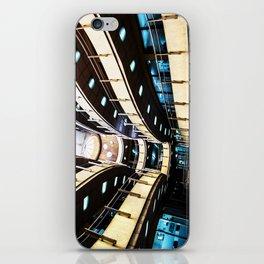 Curved walkways iPhone Skin