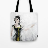 angel Tote Bags featuring Angel by Melissa Smith