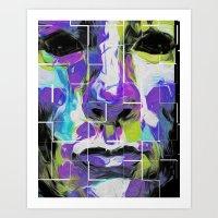 Nixo Abstract A67 Art Print