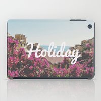 holiday iPad Cases featuring Holiday by Laure.B