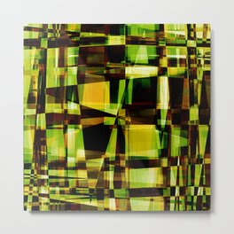 Abstract Achitecture Metal Print