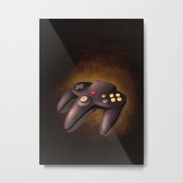 N64 Controller Metal Print