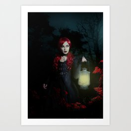 I am the wolf Art Print