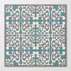 Indian Decorative design Canvas Print