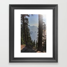 Phantom Ship Island Framed Art Print