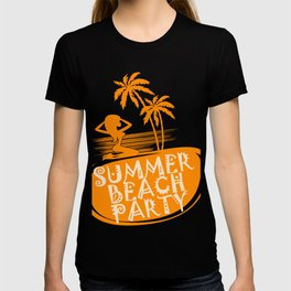 Summer Beach Party Girl Coconut-Tree Season Gift T-shirt