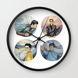 space crew Wall Clock