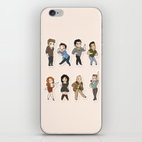 kendrawcandraw iPhone & iPod Skins featuring Dance by kendrawcandraw
