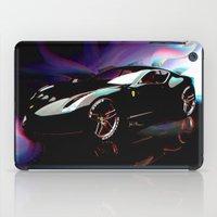 ferrari iPad Cases featuring New Ferrari by JT Digital Art