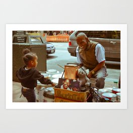 Compassion in the City Art Print