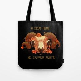 Hic Calvaria Arietis Tote Bag