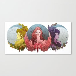 Trinity Goddess Series | Trio Canvas Print