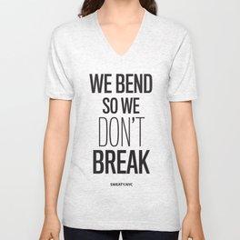 We Bend Unisex V-Neck
