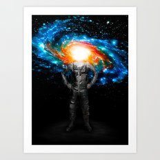 Mr. Galaxy Art Print