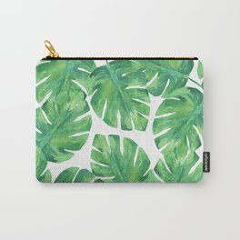 Tropical Palm Leaf 04 Carry-All Pouch