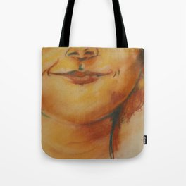 A Young Boys Smile Tote Bag