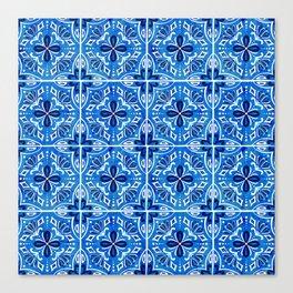 Sevilla - Spanish Tile Canvas Print