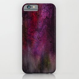Concept abstract : Feelings iPhone Case