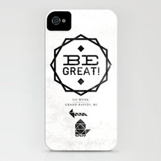 Be Great. Slim Case iPhone (4, 4s)