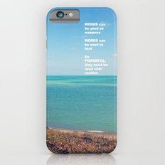 words Slim Case iPhone 6s