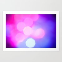 bokeh Art Prints featuring Bokeh by Mauricio Santana