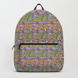 Doodle Star Flower Backpack