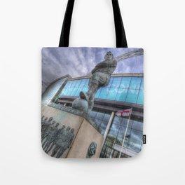 Bobby Moore Statue Wembley Stadium Tote Bag