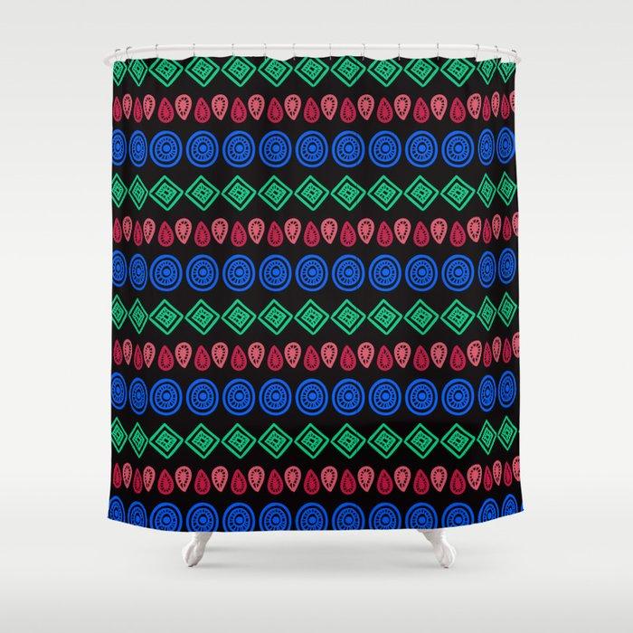 Arrow Vintage Etnic Shower Curtain