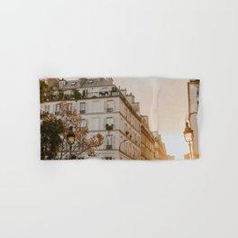Sunset in Paris Hand & Bath Towel