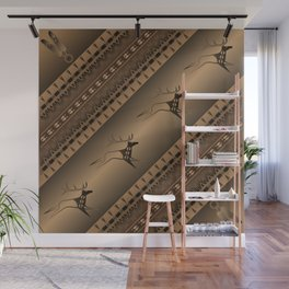 Elk Spirit (Brown) Wall Mural