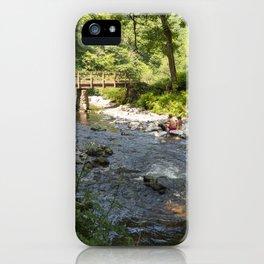 Watersmeet Bridge  iPhone Case