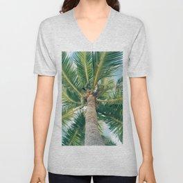 Tahitian Paradise Unisex V-Neck