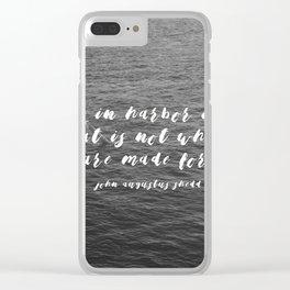Travel II Clear iPhone Case