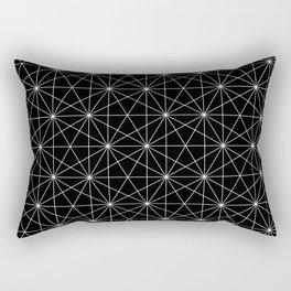 Intersected lines Rectangular Pillow
