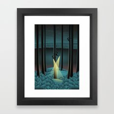 Fuss (Where Are You?) Framed Art Print