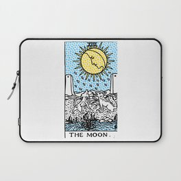 Modern Tarot 18 - The Moon Laptop Sleeve