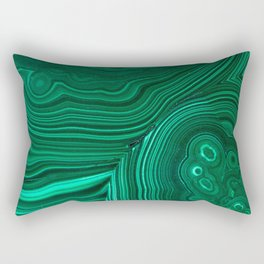 Malachite Rectangular Pillow